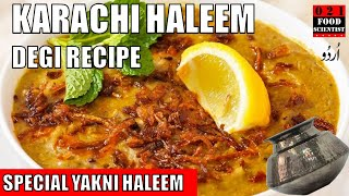 Degi Karachi Haleem Recipe