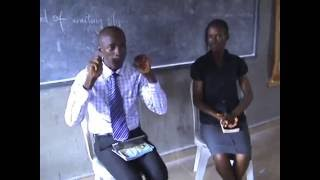 Daniel Madagwa; Motivating Teenagers alongside Tega Kwakpovwe