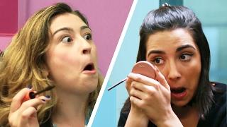 Subway Makeup Challenge
