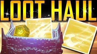 Destiny - EXOTIC LOOT HAUL!