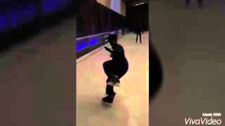 Ice skating freestyle in india #ashish #iskate