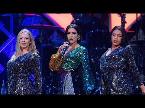 Dua Lipa Live From The 2018 Z100 s Jingle Ball