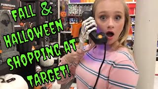Fall & Halloween Haul 2018 / Shop with me at Target / Princess Ella