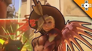 Overwatch Funny & Epic Moments 65 - LOL HEADSHOT! - Highlights Montage
