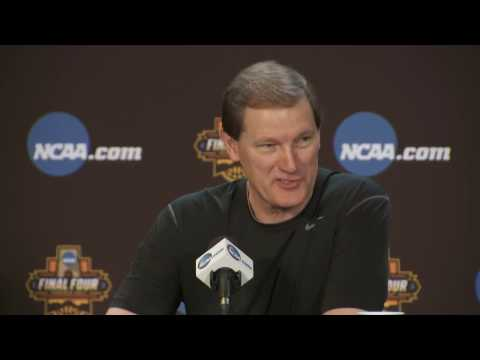 News Conference Oregon Final Four Preview