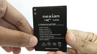 BATERAI NEXIAN G900 VIDEO