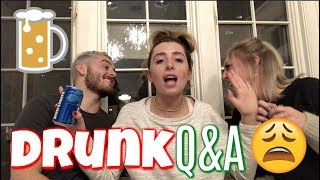 FAMILY DRUNK Q&A ATTEMPT! | VLOGMAS 5 | Lauren Elizabeth