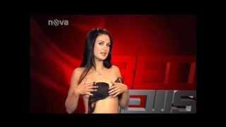 Striptérka Jana z Farmy bude uvádět RedNews na FANDOVI