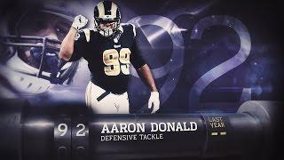 #92 Aaron Donald (DE, Rams) | Top 100 Players of 2015