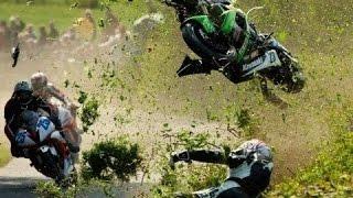 Compilation of Motocycle Crashes on Isle of Man!