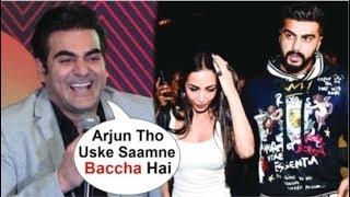 Arbaaz Khan FUNNY Reaction On Ex-Wife Malaika Arora