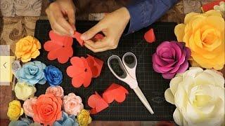 اصنعي ورود من الورق| كيف تصنعين ورود من الورق| Lady Z Style| DIY paper