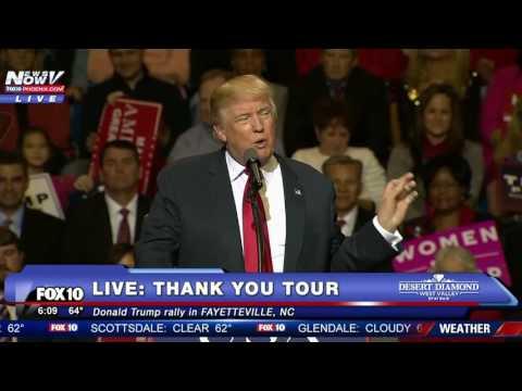 Xxx Mp4 FNN Donald Trump Thank You Tour Speech WITH Mad Dog James Mattis Fayetteville NC 3gp Sex