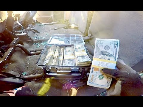 FOUND MONEY IN STOLEN TRUCK CALLED 911