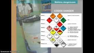 le transport de matières dangereuses