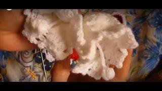 طريقة شغل جرس او وردة جرسيه من الكروشيه Campana