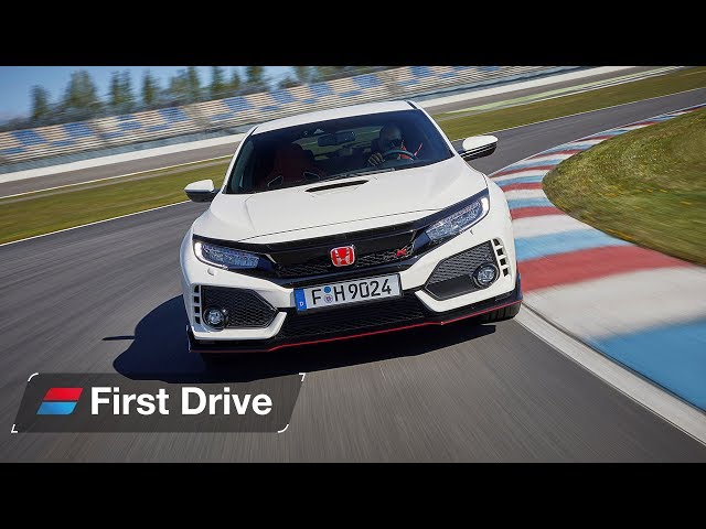 Honda Civic Type R 2017  first drive review