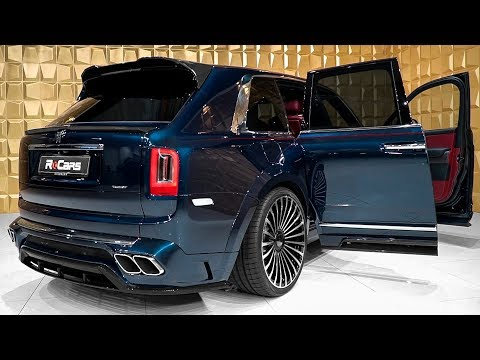 2020 MANSORY Rolls Royce Cullinan Gorgeous Luxury SUV