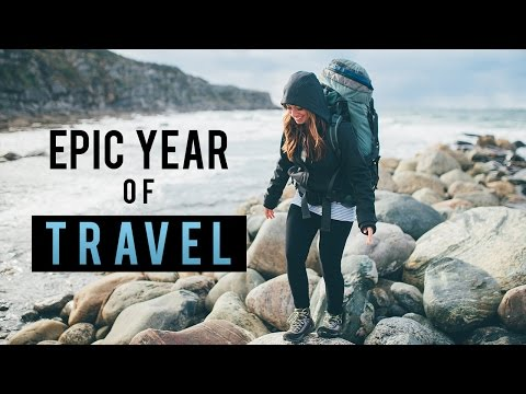 Epic Year of Travel Montage 2015