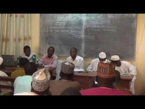 DEBAT MUSULMAN ET CHRETIEN - CAMEROUN JANV 2017