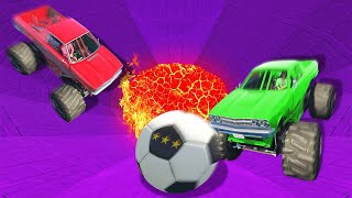 CRAZY FOOTBALL DERBY CHALLENGE! (GTA 5 Funny Moments)