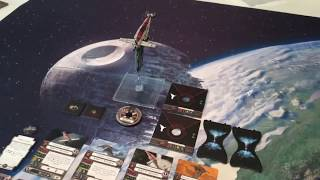 Star Wars X-wing Miniatures Game Part 67 (Resistance Bomber Expansion Contents)