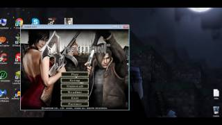 Instalando mod Jill Krauser, Resident Evil 4, olha aí Quinto Games Rei Dos Emuladores!