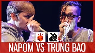 NaPoM vs TRUNG BAO  |  Grand Beatbox SHOWCASE Battle 2017  |  SEMI FINAL