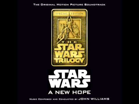 Star Wars: A New Hope Soundtrack - 06. The Hologram/Binary Sunset