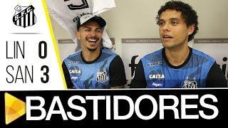 Linense 0 x 3 Santos   BASTIDORES   Paulistão (17/01/18)