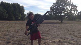How To Build A PVC Tennis Ball Air Cannon