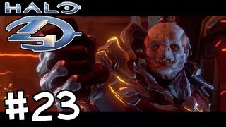 Halo 4 - Gameplay Walkthrough (Part 23) - Mission 8: Midnight (Rally Point - Charlie)