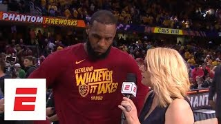 LeBron James attributes Game 3 win over Celtics to defensive energy | ESPN