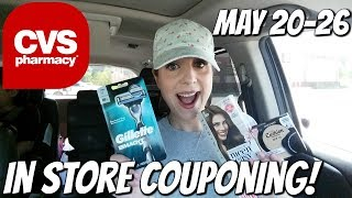 CVS IN STORE COUPONING 5/20/18-5/26/18!  HOT MONEYMAKERS THIS WEEK!!