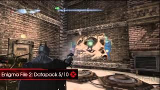 Batman: Arkham Origins Walkthrough - Enigma File 02 Locations