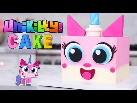NEW Unikitty LEGO Playset Toy Unboxing! + Themed Cake Recipe