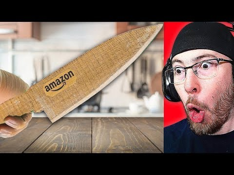 YOU WONT BELIEVE THIS He Made a SHARP KNIFE from CARDBOARD