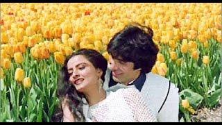 Dekha Ek Khwab To Yeh Silsile Hue HD 1080P |  Silsila | Amitabh Bachchan, Jaya Bachchan, Rekha