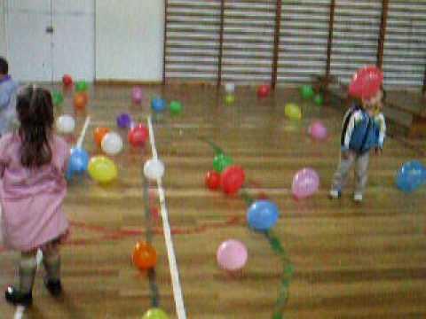 Psicomotricidad con globos