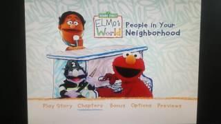 Elmo's World People In Your Neighborhood Menu Walkthrough