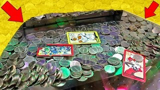Playing for the Biggest Coin Pusher Jackpot Ever!