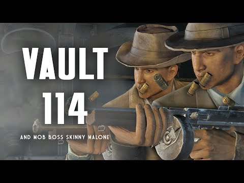 Xxx Mp4 The Full Story Of Vault 114 Mob Boss Skinny Malone Fallout 4 Lore 3gp Sex
