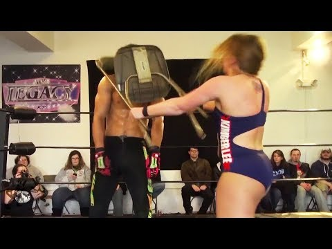 [Free Match] Kimber Lee (Abbey Laith) vs. AR Fox | Beyond Wrestling (Intergender, Mixed, NXT)