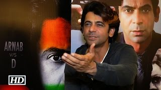 Sunil Grover's BEFITTING REPLY to reporter on his coloured hairs