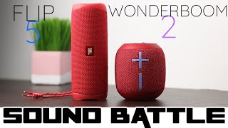 UE Wonderboom 2 VS Flip 5 : Sound Battle