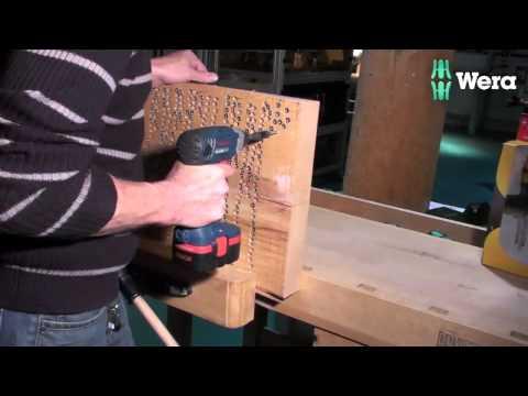 Wera (Polska) - bity Impaktor, montaż w twardym drewnie