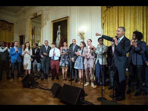 Hamilton at the White House