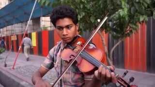 Teenage Street Musician in Iran