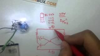 Cara Membuat Lampu LED Flip Flop# Short version