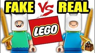 Fake LEGO vs Real LEGO Minifigures 2018
